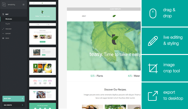 Teasy - Responsive Email Template - 1